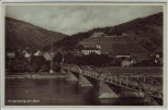 AK Klingenberg am Main Ortsansicht mit Brücke 1930