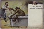 Künstler-AK Gruß aus dem Moorbad Schmiedeberg Thiele 1908 RAR