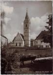 AK Foto Fürstenfeldbruck Motiv an der Amper Kirche 1960
