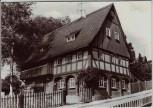 AK Foto Ebersbach-Neugersdorf Steinstraße 1 Oberlausitzer Umgebindehaus Sachsen 1982