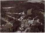 AK Foto Schloss Hamborn Luftbild Fliegeraufnahme Borchen 1964