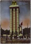 AK Foto Paris Exposition Internationale Pavillon de L'Allemagne viele Menschen Frankreich 1937