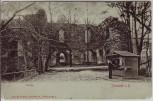 AK Tharandt in Sachsen Blick auf Ruine 1910