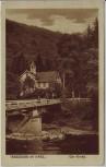 AK Treseburg im Bodetal Blick auf die Kirche Thale 1915
