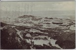 AK Blick von der Hochrieß auf den Samerberg bei Törwang 1910