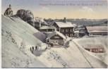 AK Berghotel Wendelsteinhaus im Winter von Westen aus b. Bayrischzell Brannenburg 1914