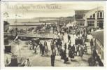 AK Foto Ostseebad Grömitz in Holstein Strandhalle viele Menschen 1928