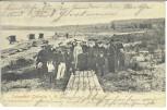 AK Ostseebad Grömitz in Holstein Gruppenbild am Strand 1908