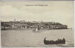 AK Helgoland vom Dampfer aus 1907
