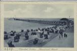 AK Ostseebad Dahme in Holstein Strand und Brücke 1927