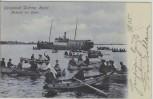 AK Ostseebad Dahme in Holstein Ankunft der Gäste 1905