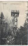 AK Clausthal Kuckholzklipper Aussichts-Turm viele Menschen 1910 RAR