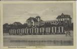 AK Ostseebad Scharbeutz Kurhaus mit Umkleidewagen 1930