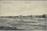 AK Ostseebad Ahlbeck Bewegte See mit Strand 1910