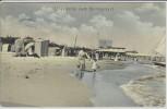 AK Ostseebad Heringsdorf Blick auf Strand 1908