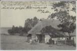 AK Ostseebad Brunshaupten Bauerngehöft an der Ostsee Kühlungsborn 1906