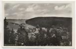 AK Foto Königshütte im Harz Ortsansicht bei Oberharz am Brocken Bahnpoststempel 1935