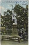 AK Jena Blick auf Burschenschafts Denkmal 3 Männer 1910