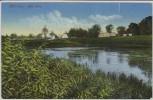 AK Mühlberg/Elbe Alte Elbe Ortsansicht 1910