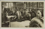 AK Foto Kochel am See Walchenseekraftwerk Maschinenhalle 1937