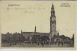AK Częstochowa Tschenstochau Blick auf Kirche Schlesien Polen 1914