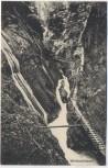 AK Wimbachklamm b. Ramsau Berchtesgaden Bayern 1910