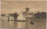 AK Hamburg Uhlenhorst Fährhaus und Bootshaus des Ruderclub Germania 1913