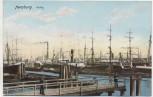 VERKAUFT !!!   AK Hamburg Hafen 1910