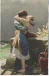 VERKAUFT !!!   Künstler-AK Meister der Farbe Liebesquelle 1910