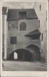 AK Schärding am Inn Wassertor 1940