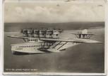 AK Foto Dornier DO-X D-1929 das größte Flugboot der Welt im Flug 1930