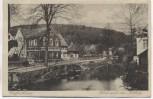 AK Großschönau Blick nach dem Hutberg Straßenansicht Sachsen 1921