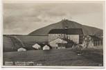 AK Foto Wiesenbaude mit Schneekoppe Luční bouda Krkonoše b. Špindlerův Mlýn Spindlermühle Tschechien 1933