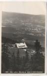 AK Foto Alte schlesische Baude mit Blick nach Schreiberhau Szklarska Poręba Schlesien Polen 1933