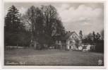 AK Foto Deutsch Gabel Forsthaus Nr. 6 Jablonné v Podještědí Sudetengau Tschechien 1940