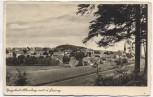 AK Foto Bergstadt Altenberg mit Geising Ortsansicht Sachsen 1937