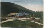 VERKAUFT !!!    AK Wirtshaus Roter Berg mit Bus Altvatergebirge b. Freiwaldau Jeseník Tschechien 1927