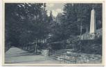 AK Gräfenberg in Schlesien Koppenweg polnisches Denkmal b. Freiwaldau Lázně Jeseník Tschechien 1927 RAR