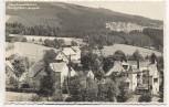 VERKAUFT !!!   AK Foto Berg- u. Sport-Hotel Justinsklause Hochofen Vysoká Pec u Nejdku b. Neudek Nejdek Tschechien 1937