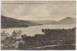 AK Thammühl im Kummergebirge Blick auf Großteich und Bornay Staré Splavy b. Doksy Hirschberg am See Tschechien 1923