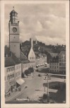 AK Ravensburg Blick auf Blaserturm 1950