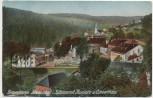 AK Riesengebirge Johannisbad in Böhmen mit Kurplatz und Konzerthaus Janské Lázně Tschechien 1920
