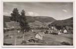 AK Foto Obertal-Buhlbach Ortsansicht b. Baiersbronn 1951