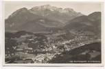 AK Foto Berchtesgaden m. Untersberg Ortsansicht 1940
