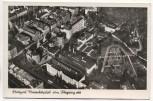 AK Foto Stuttgart Marienhospital vom Flugzeug aus Luftbild Fliegeraufnahme 1935 RAR