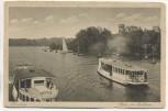 AK Hamburg Partie bei Bellevue mit Schiffen 1920
