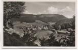AK Foto Obertal-Buhlbach Ortsansicht b. Baiersbronn 1950