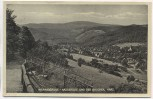AK Wernigerode Hasserode und der Brocken Harz 1950