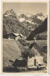 AK Foto Einödsbach mit Mägdelegabelgruppe b. Oberstdorf 1940
