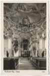 AK Foto Steingaden Oberbayern Wallfahrtskirche Wieskirche Innen 1950